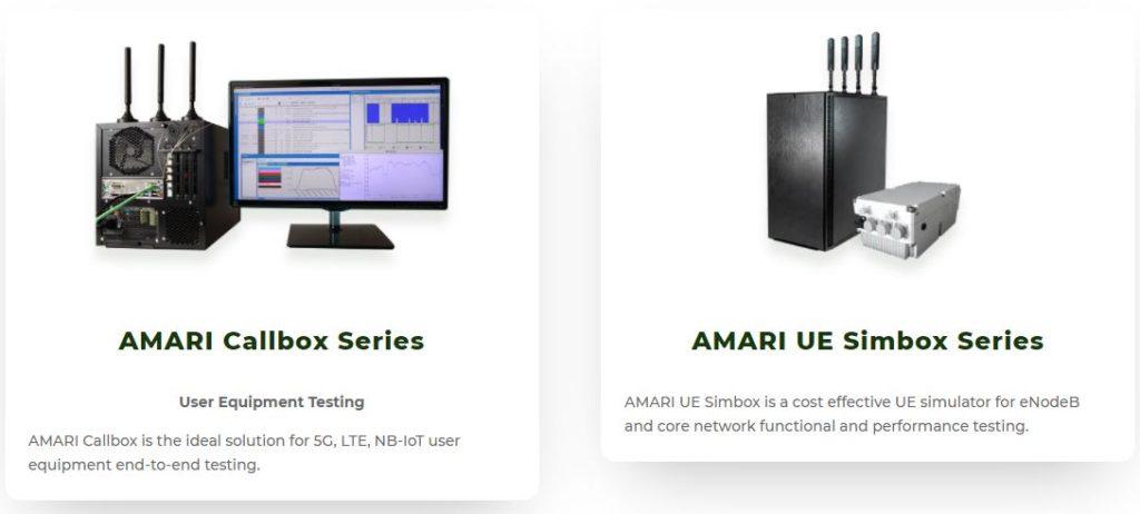 amarisoftの通信テストシステム・ラインナップ