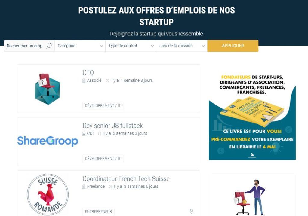 Les Pepites Tech job offer