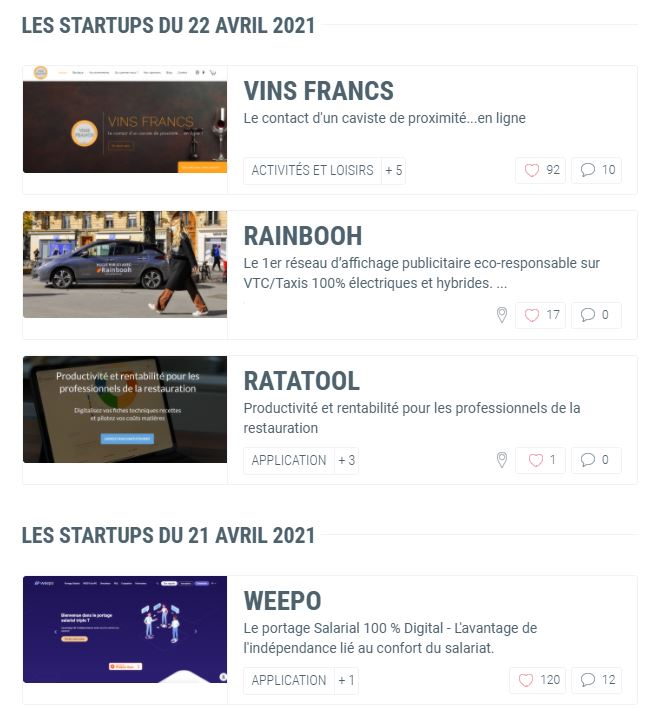 Les Pepites Tech daily update