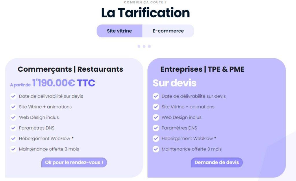 comptoir digitalのECサイトのリノベーション料金